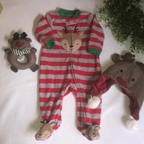 ab8f3b213 Carter's Pajamas | 3 Piece Christmas Set Bogo | Poshmark